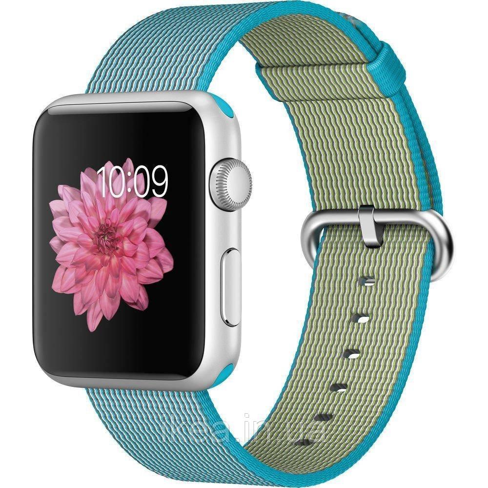 Нейлоновий ремінець COTEetCI W11 блакитний для Apple Watch 38/40 мм