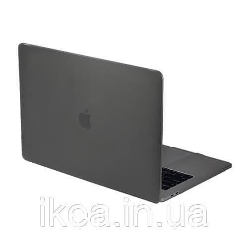 "Напівпрозорий чохол SwitchEasy Nude чорний, для Macbook Pro 13"" (2020)"