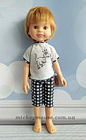Кукла Паола Рейна Дарио 32 см в пижаме динозавра Paola Reina 13214