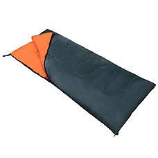 Спальный мешок (спальник) одеяло SportVida SV-CC0061 +2 ...+ 21°C R Navy Green/Orange, фото 2