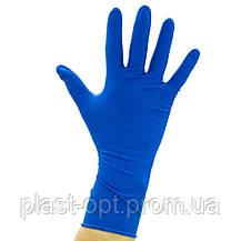 Оглядові рукавички нестерильні AMBULANCE PF (High Risk) M 25пар / уп, фото 3