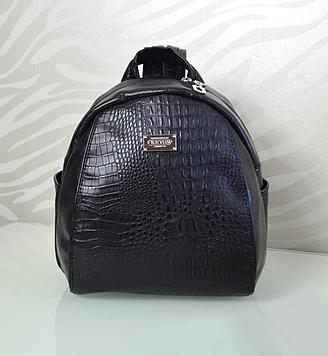 Чорний жіночий рюкзак код 9-60