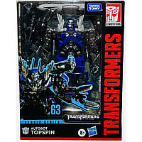 Трансформер Автобот Топспин, Transformers Autobot Topspin, Studio Series 63 Deluxe, Hasbro E8289