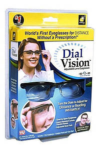 Очки с регулировкой диоптрий линз Dial Vision Dial Vision 131923P