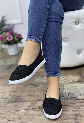 Кросівки жіночі 10 пар в ящику чорного кольору 36-41, фото 3