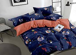 Семейный комплект постельного белья сатин (16840) TM КРИСПОЛ Украина