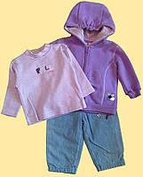 Комплект одежды для девочки: реглан, курточка, штанишки