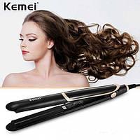 Утюжок випрямляч для волосся Kemei km-2219
