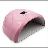 LED UV лід уф лампа Dazzle mini-1 36вт для нарощування нігтів, гель лак рожева
