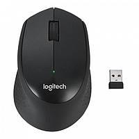 Беспроводная Мышка LOGITECH M330 Silent Plus Чёрная (Реплика)