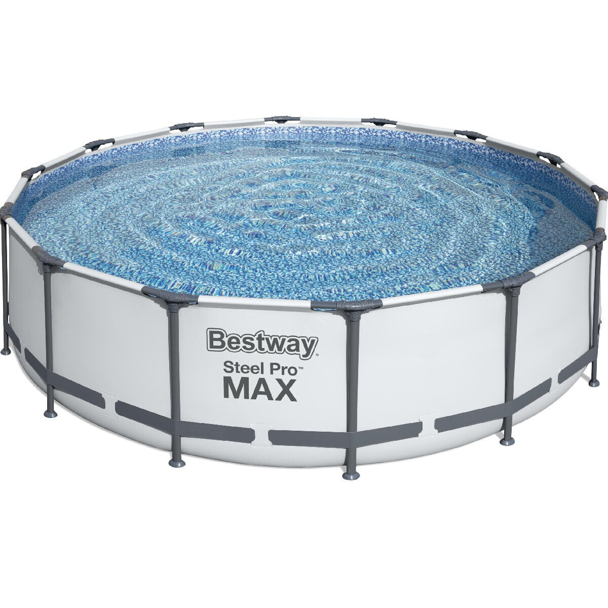 Каркасний круглий басейн BestWay 56462 (549x122 см) з картриджних фільтрів