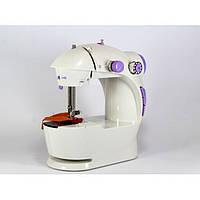 Мини швейная машинка 4 в 1 с педалью FHSM 201