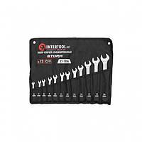 Набор ключей комбинированных 12шт. 6-14,17,19,22 мм, DIN3113, STORM INTERTOOL XT-1004