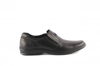 Чоловічі шкіряні туфлі комфорт Konors Comfort Leather