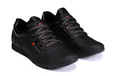Мужские кожаные кроссовки 600 (реплика), фото 2