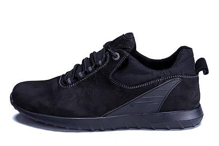 Чоловічі шкіряні кросівки Е-NS series (репліка), фото 2