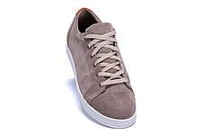 Мужские кожаные кеды  Е-series Soft Men Grey (реплика), фото 2