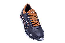 Мужские кожаные кроссовки Nike N700 (реплика), фото 2