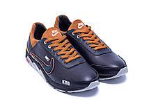 Мужские кожаные кроссовки Nike N700 (реплика), фото 3