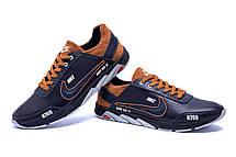 Чоловічі шкіряні кросівки Nike N700 (репліка), фото 2