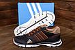 Чоловічі кросівки літні сітка Adidas Tech Flex Brown (репліка), фото 4