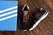 Чоловічі кросівки літні сітка Adidas Tech Flex Brown (репліка), фото 6