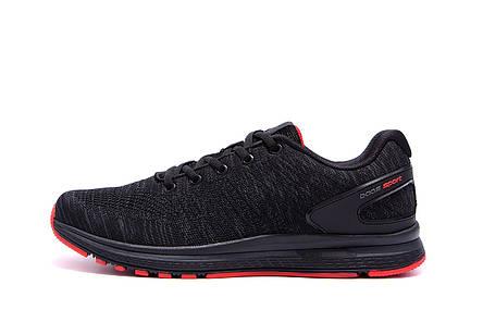 Чоловічі кросівки літні сітка BS RUNNING SYSTEM Black, фото 2