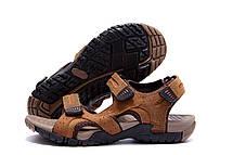 Мужские кожаные сандалии DEFF olive, фото 3