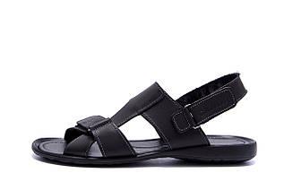Чоловічі шкіряні сандалі CARDIO Black