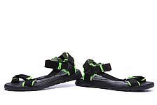Чоловічі шкіряні сандалі Nike Track Black (репліка), фото 3