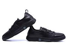 Чоловічі шкіряні кросівки Е-series (репліка), фото 3