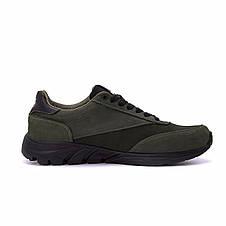 Мужские кожаные кроссовки Puma Anzarun Green (реплика), фото 3