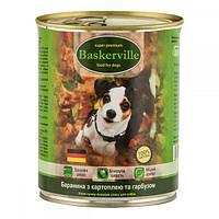 Вологий корм для собак Baskerville Баранина з картоплею і гарбузом 800 г