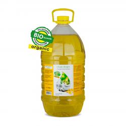 """Органический гель для мытья посуды. Сочный лимон""""(5л.)"""