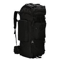 Рюкзак тактический AOKALI Outdoor A21 65L Black 5363-16840, КОД: 2451285