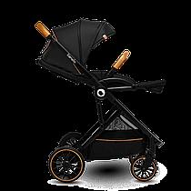 Универсальная коляска 3 в 1 Lionelo RIYA BLACK ONYX