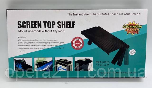 Кронштейн для Тюнер SetupBox (Screen Top Shelf) / ART-0403 (60шт)