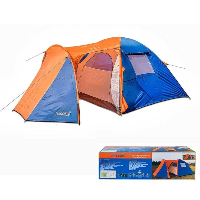 Трехместная палатка с тамбуром Coleman 1504