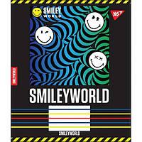 Зошит шкільний 12 аркушів лінія Smiley world 25шт/уп YES