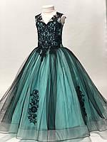 """Сукня бальна фатиновое з вишивкою на дівчинку 7-9 років (6кол) """"DIANA"""" недорого від прямого постачальника"""