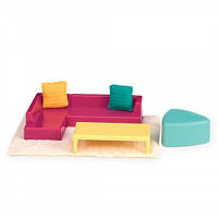 Набор для кукол LORI Мебель для гостиной LO37012Z, КОД: 1915907