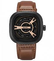 Мужские наручные часы Paidu коричневые SKL11-292400