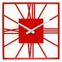 Настенные Часы Glozis New York Red B-025 35х35
