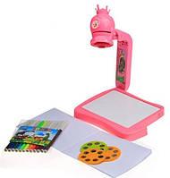 Проектор детский для рисования со светом, слайдами и фломастерами