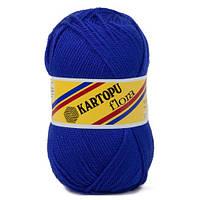 Пряжа Kartopu Flora василек №624 для ручного вязания
