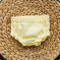 Трусики-блумеры на памперс, лимонні