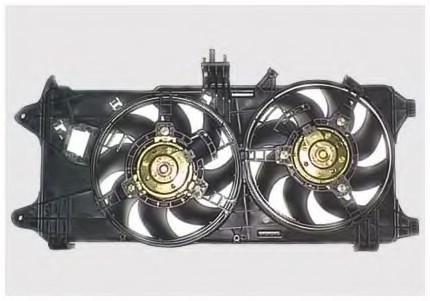 Дифузор без вентеляторов Fiat Doblo 1.3MJTD 2000-2011