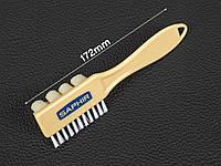 Щетка для нубука и велюра Saphir Brush Nubuck Microfibres