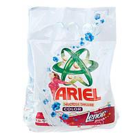Ariel «Color Lenor Effect 2 в 1» Стиральный порошок 1,5 кг