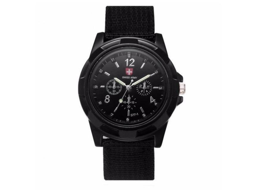 Чоловічі наручні годинники Swiss Army W060 Чорний